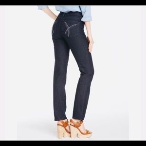 NYDJ Marilyn Straight Jeans with embellishment